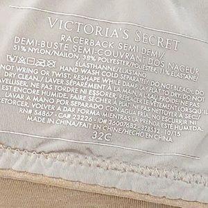 Victoria's Secret Intimates & Sleepwear - Victoria's Secret Push Up Nude Racerback Bra 32C✨